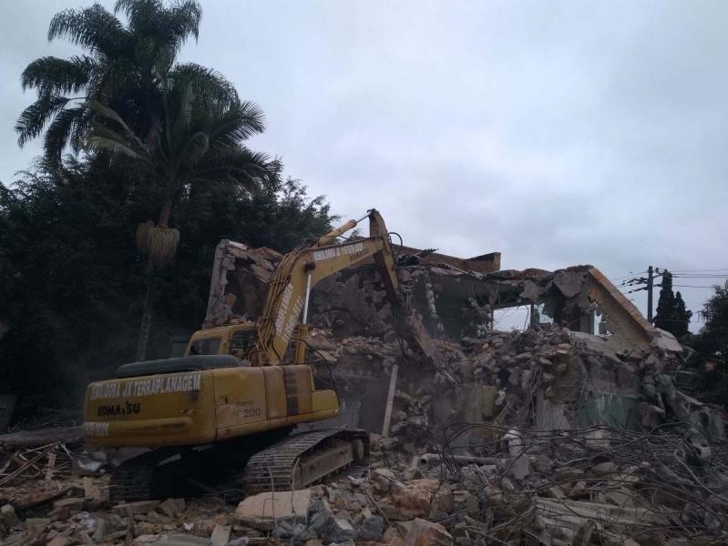 Demolição Alvenaria Francisco Morato - Demolição de Galpão