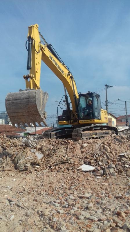 Demolição de Casas Itapecerica da Serra - Demolição de Galpão