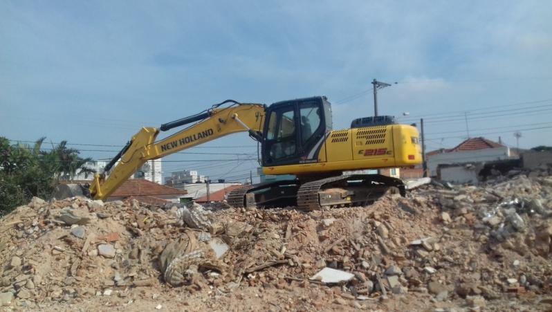 Empresa para Demolição de Casas Barueri - Demolição de Galpão