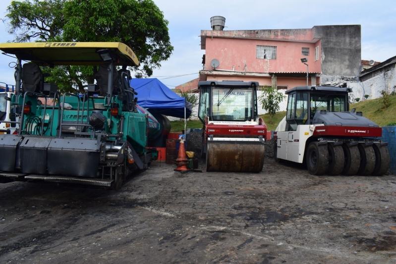 Locação de Rolo de Pavimentação Valores Arujá - Locação de Rolo para Pavimentação