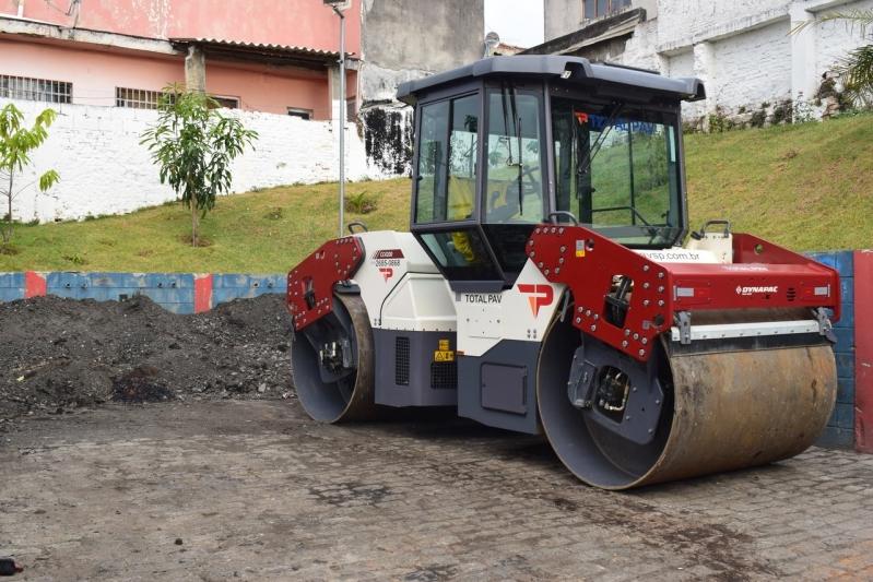 Locação Mini Rolo Compactador Cambuci - Locação de Rolo para Pavimentação