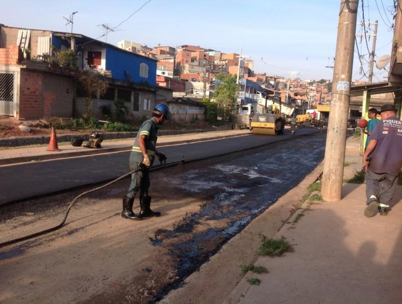 Pavimentação Lama Asfáltica Araraquara - Empresa de Pavimentação Asfáltica