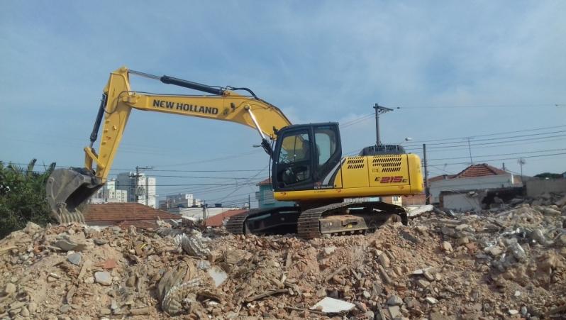Serviço de Demolição de Casas Alphaville - Demolição de Alvenaria
