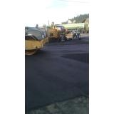 asfaltamento para condomínio Centro