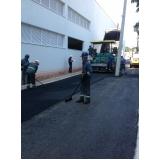 asfaltamento para construção civil Carapicuíba