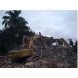 demolição alvenaria Suzano