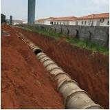 empresa de drenagem de solo encharcado Centro