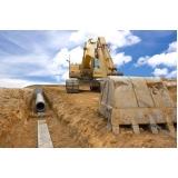empresa de drenagem do solo construção civil Bom Retiro