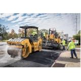 empresa de pavimentação com fresa de asfalto São Paulo
