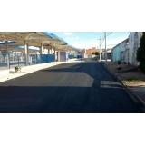 empresa de pavimentação de asfalto em condomínio Marília