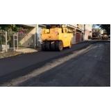 empresa de serviço de pavimentação com asfalto borracha Bela Cintra