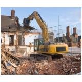 empresa para demolição construção civil Bauru
