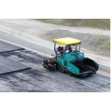 empresa para pavimentação com asfalto borracha Barueri