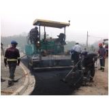 Empresa de Pavimentação com Asfalto Borracha