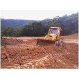 onde tem obras terraplanagem Bauru