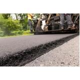 pavimentação com asfalto borracha Glicério
