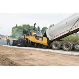 pavimentação com asfalto Pari
