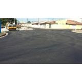 pavimentação de asfalto em condomínio Bela Vista