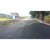pavimentação de asfalto para condomínio Bela Cintra