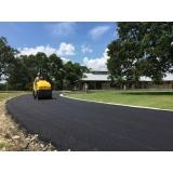 pavimentação de asfalto Taubaté