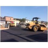 pavimentação no asfalto Região Central