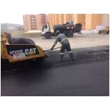 serviço de asfaltamento para condomínio Itapevi
