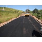 serviço de asfaltar rua particular Bauru