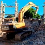 serviço de demolição com retroescavadeira Embu das Artes