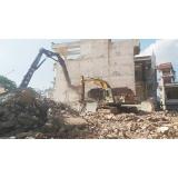 serviço de demolição construção civil Liberdade