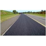 serviço de pavimentação com asfalto borracha Cajamar