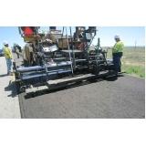 serviço de pavimentação com fresa de asfalto Itu