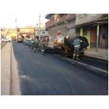 serviço de pavimentação lama asfáltica Carapicuíba