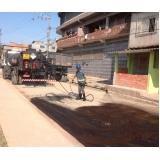 serviço de pavimentação Valinhos