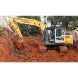 serviço de terraplanagem construção civil Cotia