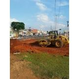 serviço de terraplanagem de terreno Franca