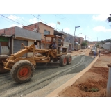 serviço de terraplanagem e pavimentação Araras