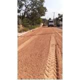 serviço de terraplanagem pavimentação asfalto Sé