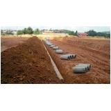 serviço para drenagem do solo construção civil Ribeirão Pires