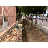 serviço para drenagem solo construção civil Brás