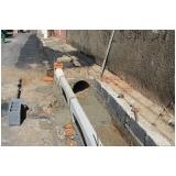 serviço para drenagem solo residencial Sorocaba