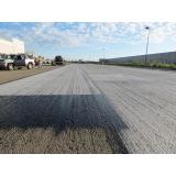 serviço pavimentação com asfalto borracha Aclimação
