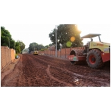 terraplanagem e asfaltamento Carapicuíba